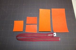 ●グローブ革財布(作成キット)