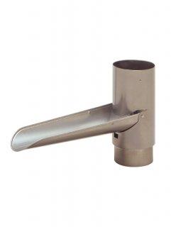 雨水とりだし口  パッコンS  SW-1202(塩ビ雨とい-60Φ-用 / 材質:ステンレスSUS304 無塗装)