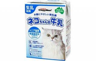 ネコちゃんの牛乳 シニア猫用 200ml / ドギーマン