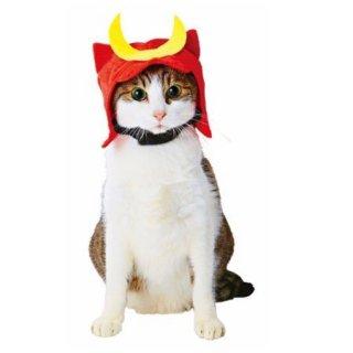猫用変身ほっかむりカブト/ペティオ