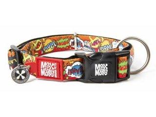 M&M スマートID付き犬首輪 オリジナルギア ヒーロー
