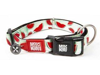 M&M スマートID付き犬首輪 オリジナルギア スイカ