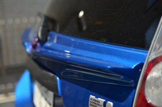 未塗装 NHP10 アクア リア テール ゲート スポイラー ワイパーあり  日本製 image