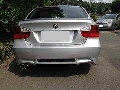 未塗装 BMW 3シリーズ E90 E91 前期 セダン 【国産】 リアウィング image