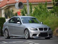 未塗装 BMW 3シリーズ E90 E91 前期 セダン  エアロ フロント バンパー image