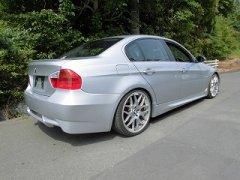 未塗装 BMW 3シリーズ E90 E91 前期 セダン 【国産】 エアロ リアバンパー image