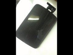 GF50 シーマ CIMA ブラックカーボン加工済み 純正 給油口 フューエルリッド  image