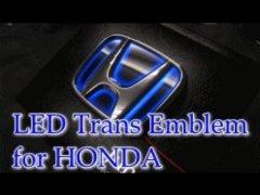 フィット専用 型式:GE ジュナック LED トランス エンブレム リアエンブレム image
