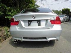 塗装済 BMW 3シリーズ E90 E91 前期 セダン リア バンパー Mスポーツ仕様 3シリーズ 日本製 image