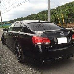 カーボン レクサス GS 350 リア ウイング トランク スポイラー 日本製 image