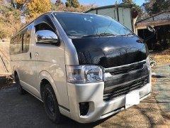 未塗装 200系 ハイエース カリメロ ボンネット 日本製 image