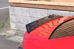 塗装済 ZN6 ZC6  BRZ トヨタ 86【 ハチロク 】 リア ウィング トランク スポイラー ダックテールタイプ 艶消しブラック2  image