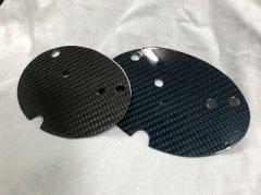 汎用 リアル カーボン プレート エンブレムサイズ 15x20cm image