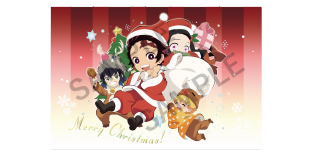 <img class='new_mark_img1' src='https://img.shop-pro.jp/img/new/icons5.gif' style='border:none;display:inline;margin:0px;padding:0px;width:auto;' />鬼滅の刃 クリスマスSD クリアファイル
