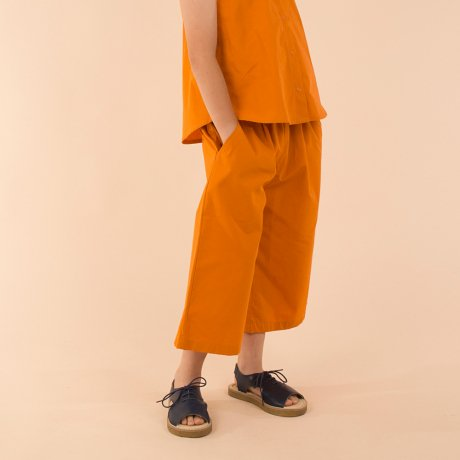 tinycottons / solid pleats pant SS18-250