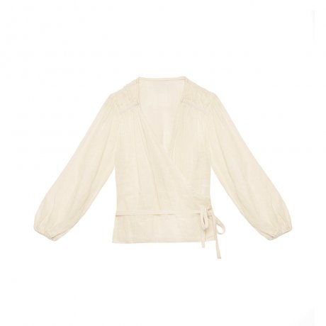little creative factory / Fairy Blouse / IVORY 061A