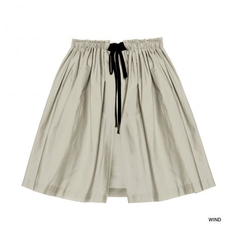 little creative factory / Contemporary Apron Skirt / WIND 075A