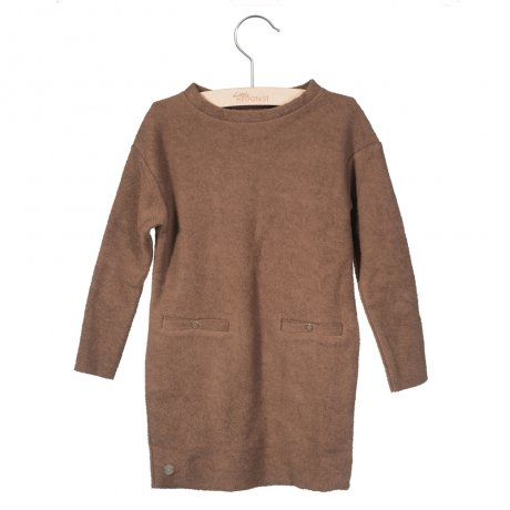little HEDONIST / Dress Lena [KIDS] Chesnut