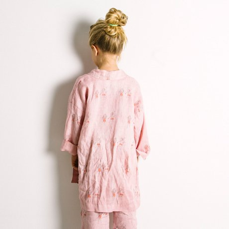 yellowpelota / Pijama Housecoat 28.1 / Strawberry