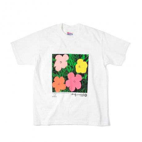 Deadstock / Andy Warhol / Flowers KIDS T-SHIRT