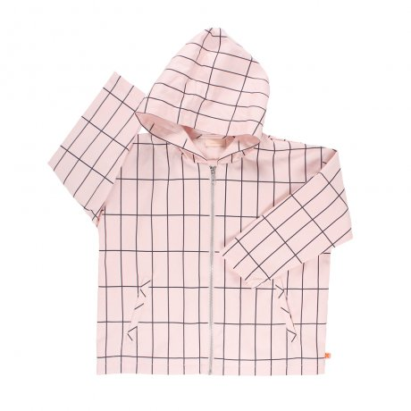 tinycottons / big grid oversized wv jacket SS17-140