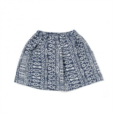 <img class='new_mark_img1' src='https://img.shop-pro.jp/img/new/icons21.gif' style='border:none;display:inline;margin:0px;padding:0px;width:auto;' />alma llenas AMERICAN FAMILY BABY SKIRT / INDIAN DENIM