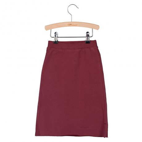 little HEDONIST [KIDS] Long Skirt Charlie / Burgundy