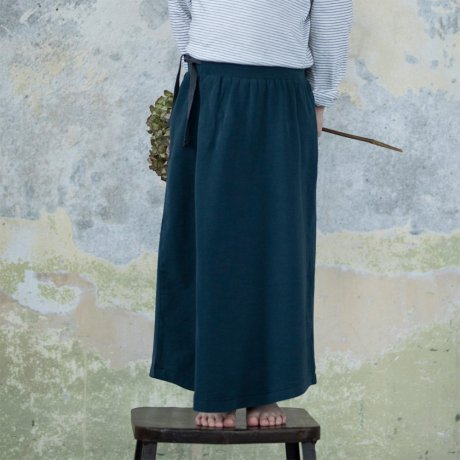 Phil&Phae / Long skirt / deep teal / 183212
