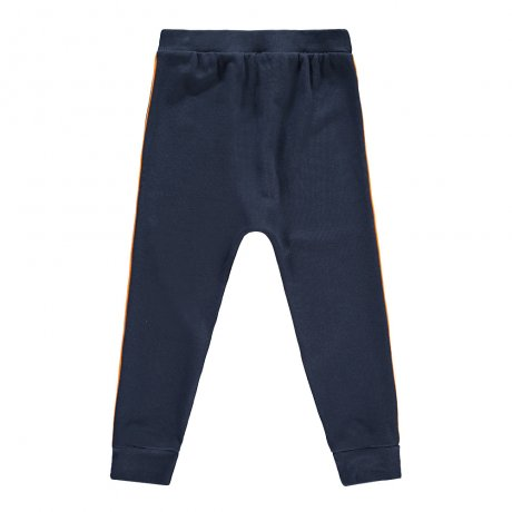Beau Loves / Velo Pants / Stripe on Side / Navy