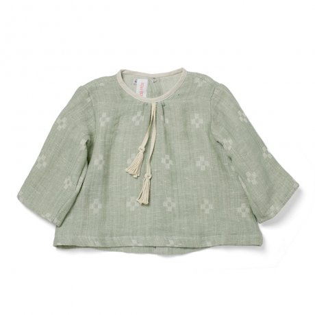 FROU FROU / THE JUNE BLOUSE / BAMBUS / W1818