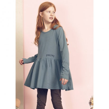<img class='new_mark_img1' src='https://img.shop-pro.jp/img/new/icons21.gif' style='border:none;display:inline;margin:0px;padding:0px;width:auto;' />KIDS ON THE MOON POETRY MINT BLOUSE AW18/04B