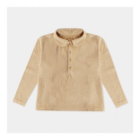 REPOSE AMS / PETER PAN BLOUSE / BEIGE SAND