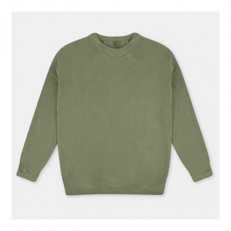 <img class='new_mark_img1' src='https://img.shop-pro.jp/img/new/icons8.gif' style='border:none;display:inline;margin:0px;padding:0px;width:auto;' />REPOSE AMS / OVERSIZED SWEATER / USED KHAKI