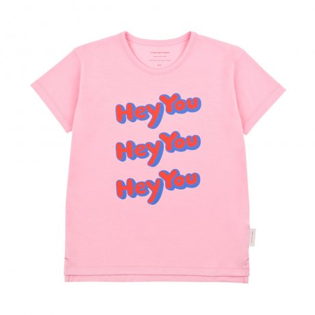 <img class='new_mark_img1' src='https://img.shop-pro.jp/img/new/icons8.gif' style='border:none;display:inline;margin:0px;padding:0px;width:auto;' />[New Arrival]tinycottons / HEY YOU SS TEE / pink red