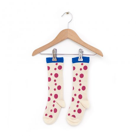 Nadadelazos / SOCKS FLAMENCO DOTS / S19 SOC.3.700 FLAMENCO