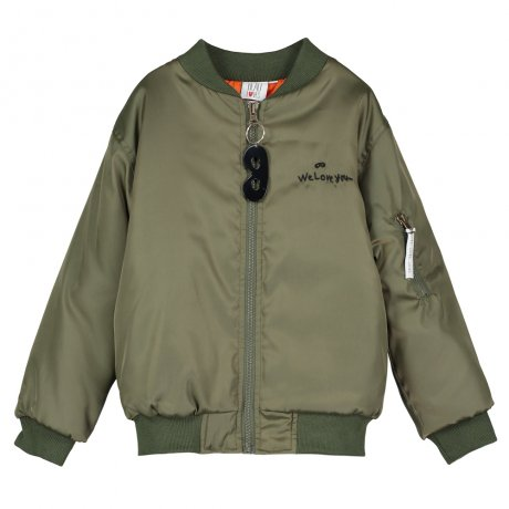 <img class='new_mark_img1' src='https://img.shop-pro.jp/img/new/icons8.gif' style='border:none;display:inline;margin:0px;padding:0px;width:auto;' />BEAU LOVES / Bomber Jacket / Olive