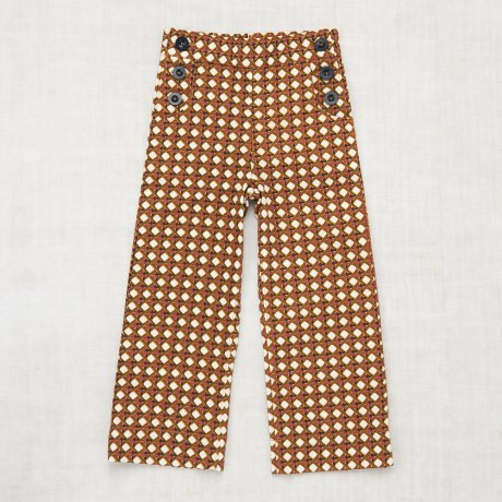 Misha&Puff / LATTICE CANVAS TROUSER / Lattice Print / MNPK0684-101