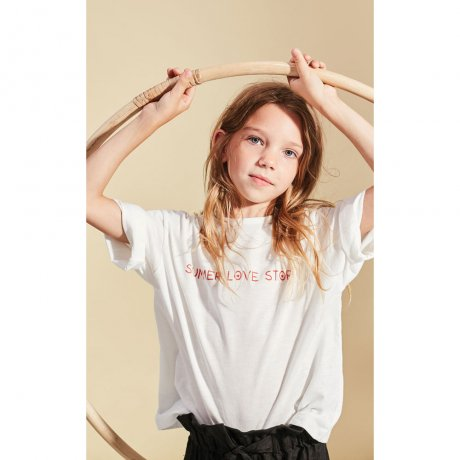 <img class='new_mark_img1' src='https://img.shop-pro.jp/img/new/icons8.gif' style='border:none;display:inline;margin:0px;padding:0px;width:auto;' />KIDS ON THE MOON / SUMMER LOVE STORY T-SHIRT / 06B/SS19