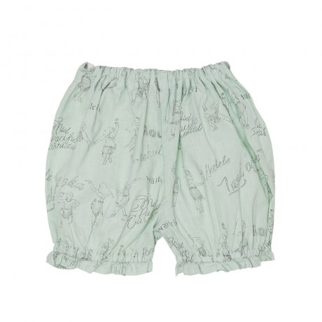 <img class='new_mark_img1' src='https://img.shop-pro.jp/img/new/icons8.gif' style='border:none;display:inline;margin:0px;padding:0px;width:auto;' />yellowpelota / Hula Pants(Baby) / Green / SS19-08.1-PT04
