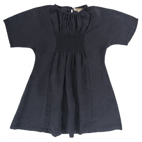 <img class='new_mark_img1' src='https://img.shop-pro.jp/img/new/icons8.gif' style='border:none;display:inline;margin:0px;padding:0px;width:auto;' />Omibia / Kids BELLA Dress / Anchor Grey