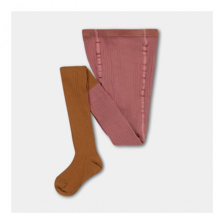 <img class='new_mark_img1' src='https://img.shop-pro.jp/img/new/icons8.gif' style='border:none;display:inline;margin:0px;padding:0px;width:auto;' />[2nd] REPOSE AMS / TIGHTS / ROSE APRICOT COLOR BLOCK