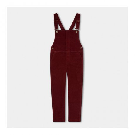 REPOSE AMS / DUNGAREE / WARM RED