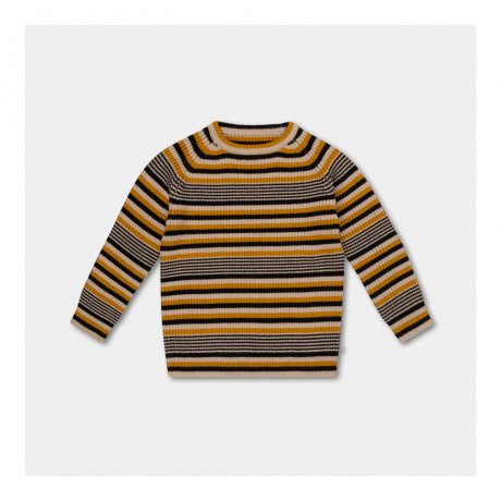 <img class='new_mark_img1' src='https://img.shop-pro.jp/img/new/icons8.gif' style='border:none;display:inline;margin:0px;padding:0px;width:auto;' />REPOSE AMS / KNITTED RAGLAN SWEATER / RETRO STRIPE