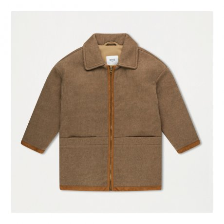 <img class='new_mark_img1' src='https://img.shop-pro.jp/img/new/icons8.gif' style='border:none;display:inline;margin:0px;padding:0px;width:auto;' />REPOSE AMS / BOMBER WITH COLLAR / SAND BROWN