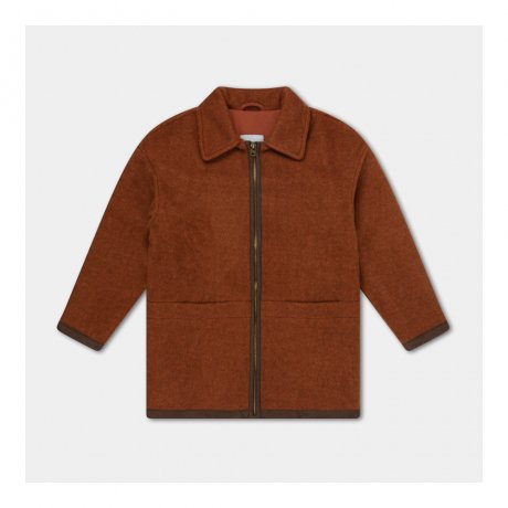 <img class='new_mark_img1' src='https://img.shop-pro.jp/img/new/icons8.gif' style='border:none;display:inline;margin:0px;padding:0px;width:auto;' />REPOSE AMS / BOMBER WITH COLLAR / WARM STONE