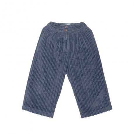 <img class='new_mark_img1' src='https://img.shop-pro.jp/img/new/icons8.gif' style='border:none;display:inline;margin:0px;padding:0px;width:auto;' />yellowpelota / Cropped corduroy trousers (Unisex) / Grey / FW19-42.3-PT14