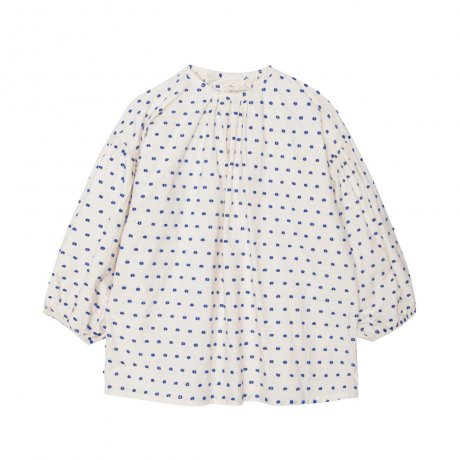 <img class='new_mark_img1' src='https://img.shop-pro.jp/img/new/icons8.gif' style='border:none;display:inline;margin:0px;padding:0px;width:auto;' />yellowpelota / Plumetti Blouse / Natural / FW19-30.1-BL24