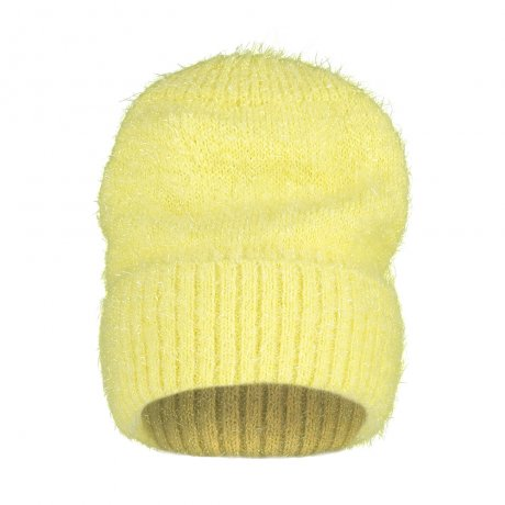 BEAU LOVES / Sparkly Knit Hat / Yellow