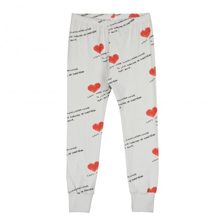 <img class='new_mark_img1' src='https://img.shop-pro.jp/img/new/icons8.gif' style='border:none;display:inline;margin:0px;padding:0px;width:auto;' />BEAU LOVES / Slim Pants with Cuffs / I Heart You AOP / Quiet Grey