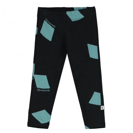 BEAU LOVES / Baby Leggings / Wonderland AOP / Black